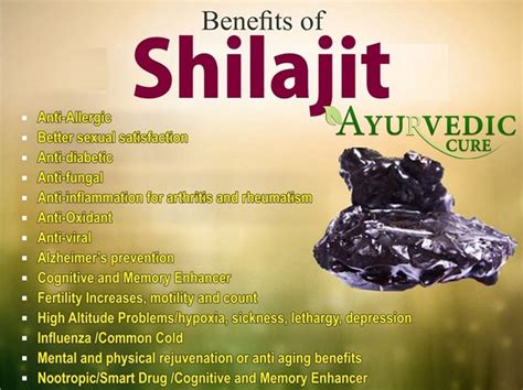 Shilajit Detox by Health Benefits Of Shilajit Ayurveda