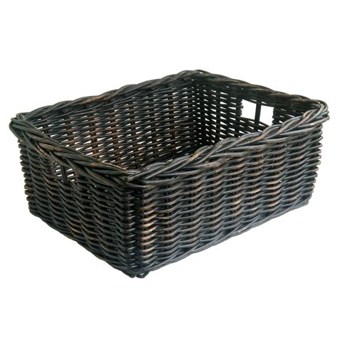 storage baskets blackwash storage baskets in 2 sizes