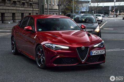 Alfa Romeo Quadrifoglio by Alfa Romeo Giulia Quadrifoglio 18 Dezember 2016 Autogespot