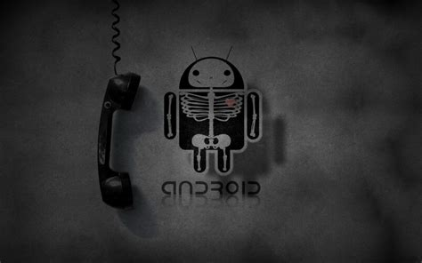 wallpaper black and white android android wallpapers black hd wallpaper of android