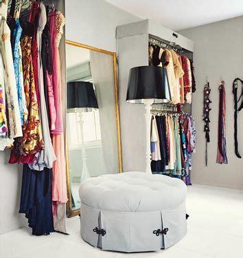Dressing Room Ottoman Closet Ottomans And Mirror On Pinterest