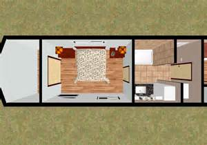 Underground Homes Floor Plans cozyhomeplans com 424 sq ft 53 shipping container house f