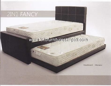 Kasur Bed Ukuran No 1 2in1 fancy bed murah disc s d 50