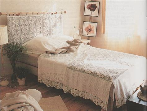 crochet dessus de lit le de crochet et tricot d