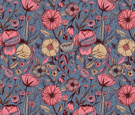 ilusiones opticas vectorizadas garden fabric by giovanam on spoonflower custom fabric