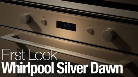 up close with whirlpool s new sunset bronze finish whirlpool s silver dawn finish comes to european