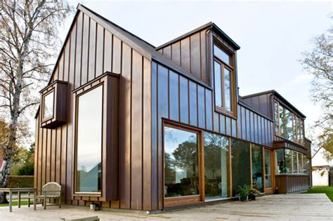 Cottage Architects by Cottage Style Copper House In Copenhagen Modern House
