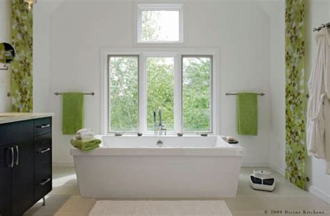 green and white bathroom ideas decorating with green 52 modern interiors to accentuate