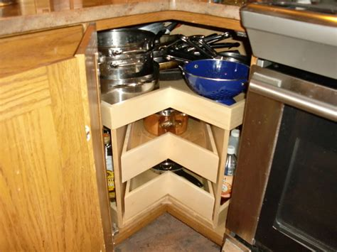corner cabinet storage solutions kitchen glide around corner cabinet solutions kitchen drawer