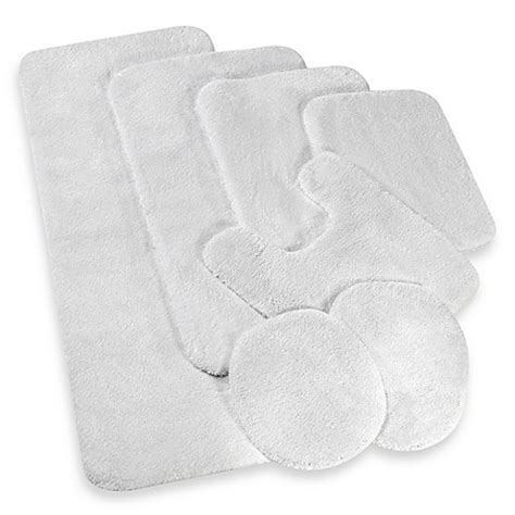 Wamsutta Duet Bath Rug Buy Wamsutta 174 Duet Contour Bath Rug In White From Bed Bath Beyond