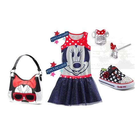 Sofia Polka Minnie Cantik 388 back to school kohl s exclusives for disney april golightly