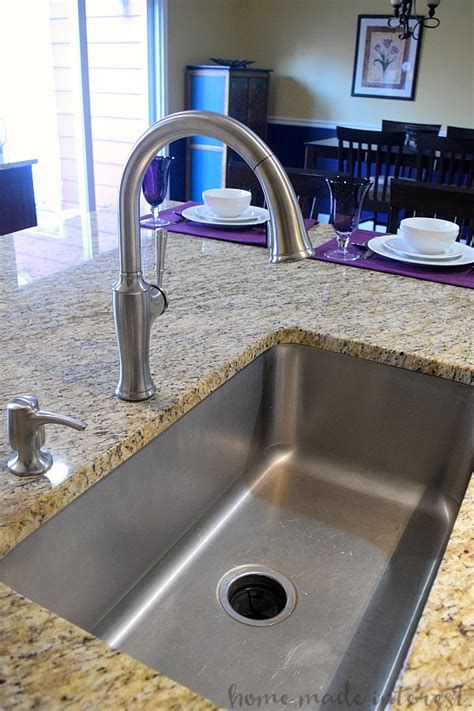 how to install faucet in kitchen sink how to install a kitchen faucet home made interest