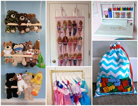do it yourself projects 26 ways to organize toys in small spaces