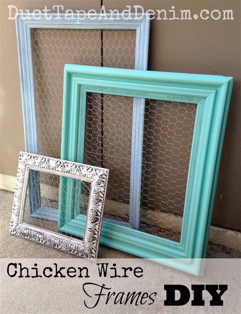 Repurposed Kitchen Island Ideas chicken wire frames diy repurposed thrift store find