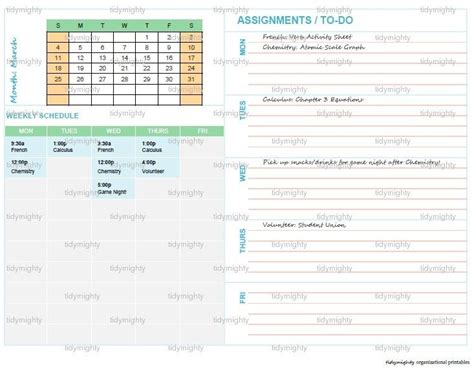 printable student planner pdf 1000 images about free printable on pinterest free