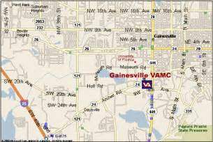 gainesville florida on map malcom randall va center florida south