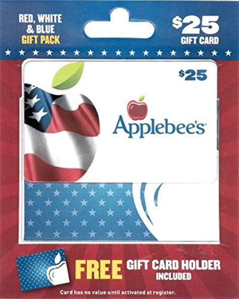 Applebees Gift Card Amount - applebee s gift card military 25 076750111662 ebay