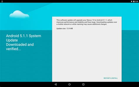 ota android android 5 1 1 starts rolling out ota to the nexus 10 droidforums net android forums news