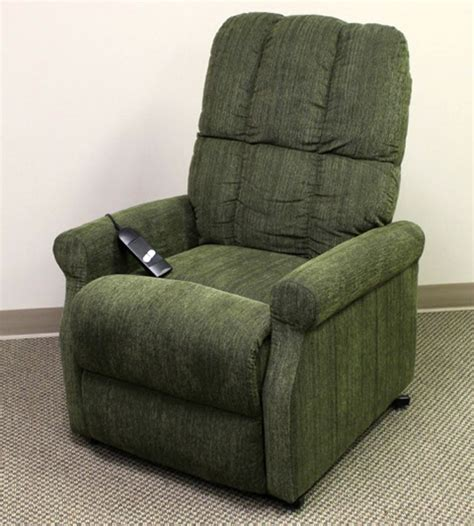 green recliner power lift recliner in sage green microfiberlazy boy