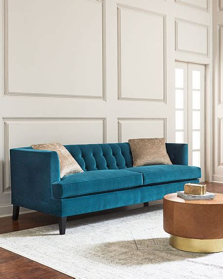 dusk tufted sofa neiman hadley tufted back sofa neiman