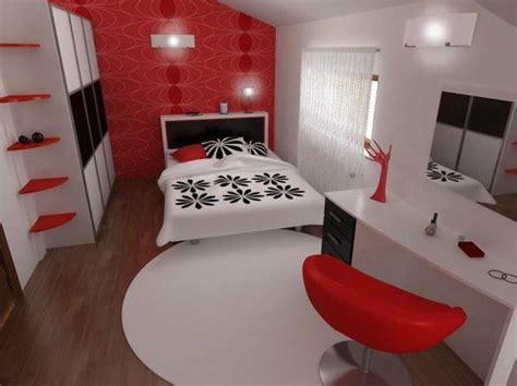 red black and white bedroom inspiring contemporary bedroom in red black and white