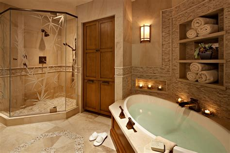 Spa Bathroom Designs Inexpensive Way To Recreate Atmosphere Of Spa In Your Bathroom