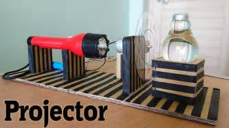 make your house a home how to make a projector using bulb at home youtube