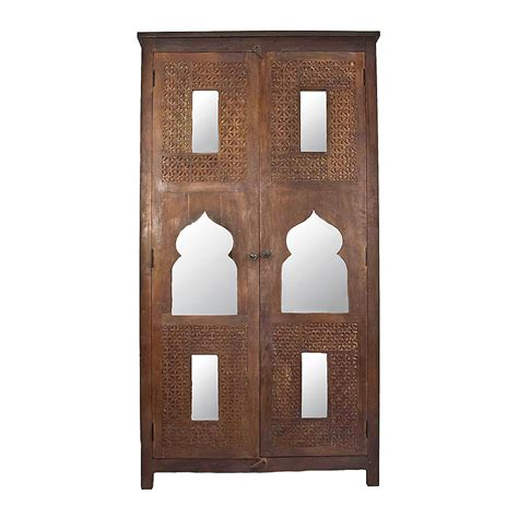 moroccan carved mirrored armoire second shout out