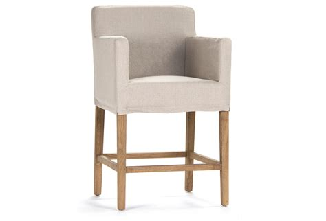 slipcovers for bar chairs avignon slipcover counter stool bar from one kings lane