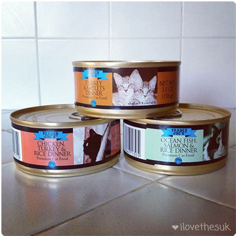 trader joe s treats ilovethesuk trader joe s canned cat food review