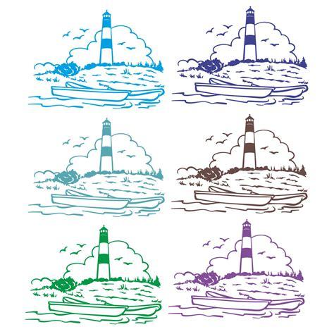 Folien Aufkleber Maritim by Leuchtturm Sylt Sticker Aufkleber Autoaufkleber Womo