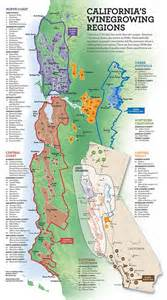 map of northern california wineries california s wine growing regions lakes los angeles and