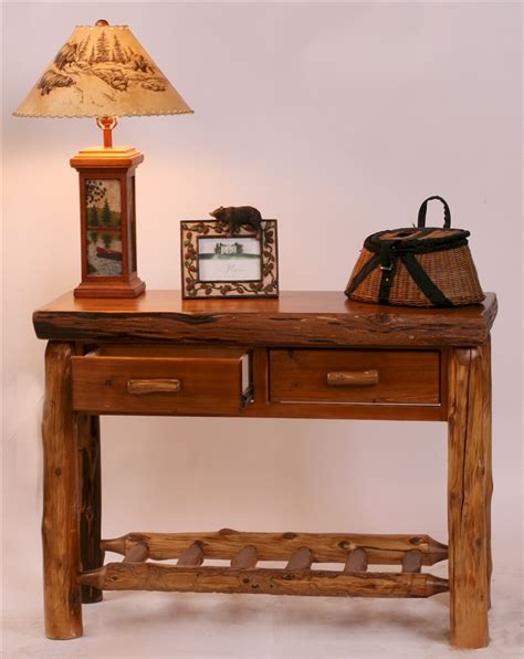 Woodlands Furniture Stores by Woodlands C Sofa Table The Log Furniture Store