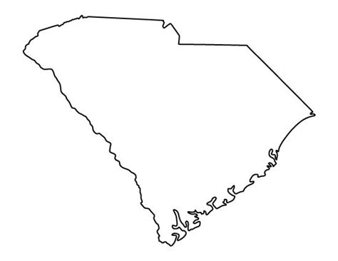 How To Draw The Outline Of Carolina by 1000 Ideas About South Carolina On Of South South Carolina