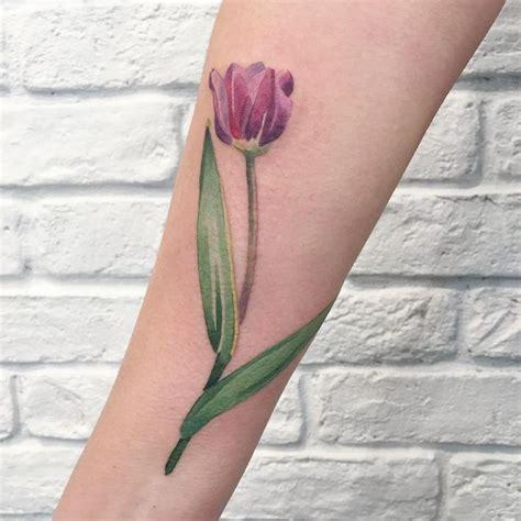 40 latest tulip tattoos ideas collection
