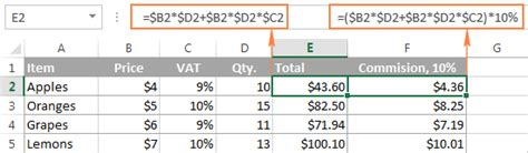 Cheap Masters Paper Exle by How To Write Custom Formulas In Excel