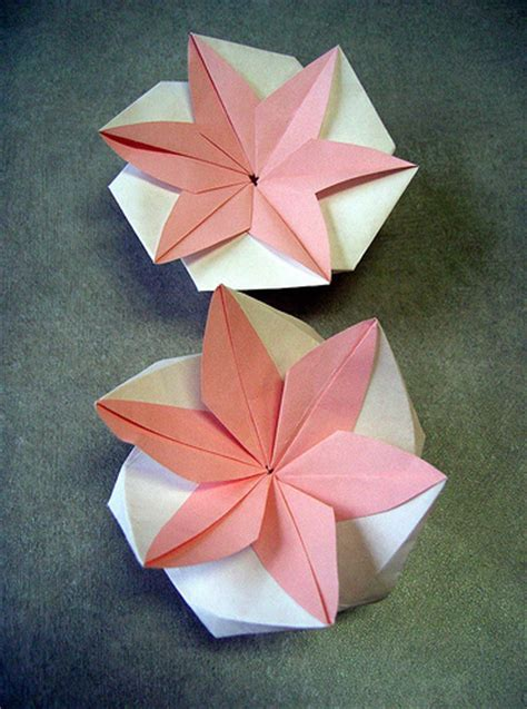 Origami Flat Box - the fitful flog