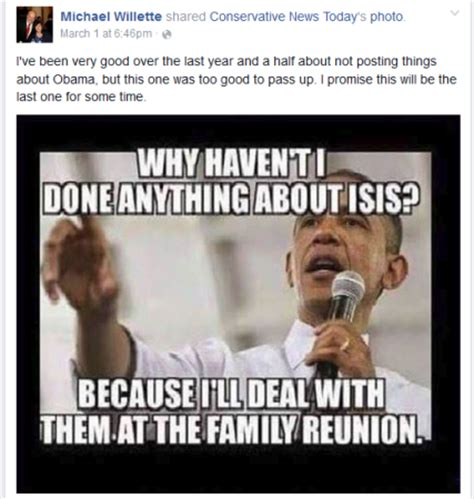 Family Sucks Meme - maine gop senator posts meme on facebook suggesting obama