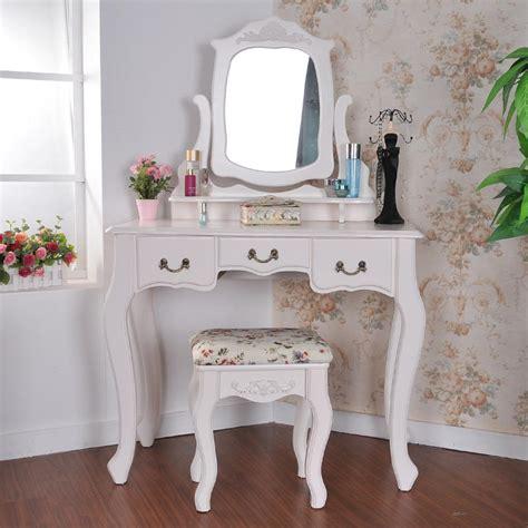white vanity desk home furniture design