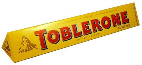 top 100 chocolate bars toblerone milk chocolate bar and other confectionery at