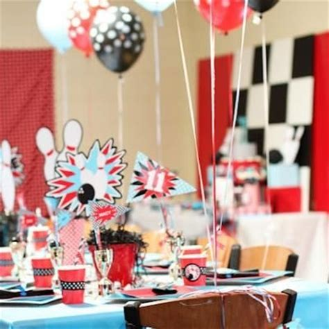 bowl centerpieces for tables 17 best ideas about bowling themes on