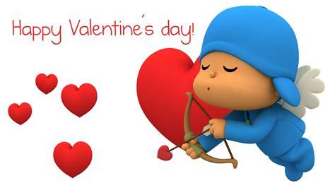 imagenes q digan feliz dia de san valentin happy valentine s day with pocoyo youtube
