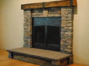 brick veneer fireplace