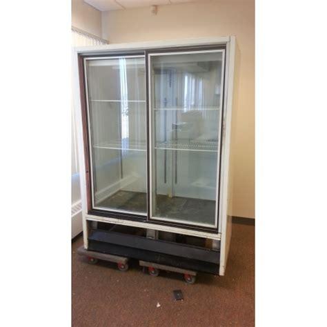 White Commercial 2 Glass Door Cooler Refrigerator Commercial Glass Door Refrigerator Used