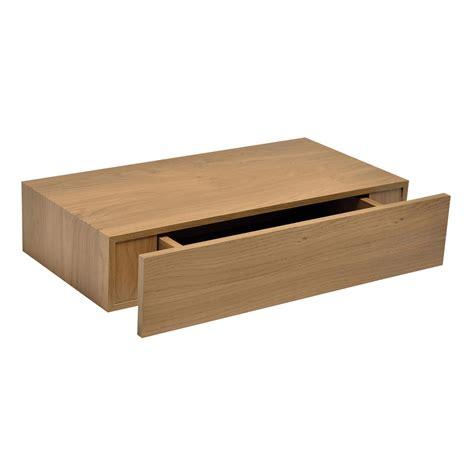 floating shelves with drawers diy oak effect floating drawer shelf l 480mm d 250mm