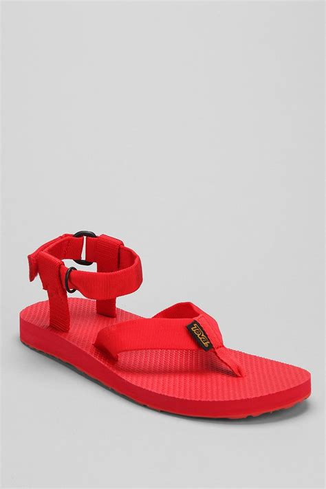 teeva sandals teva monochromatic original sandal in for lyst