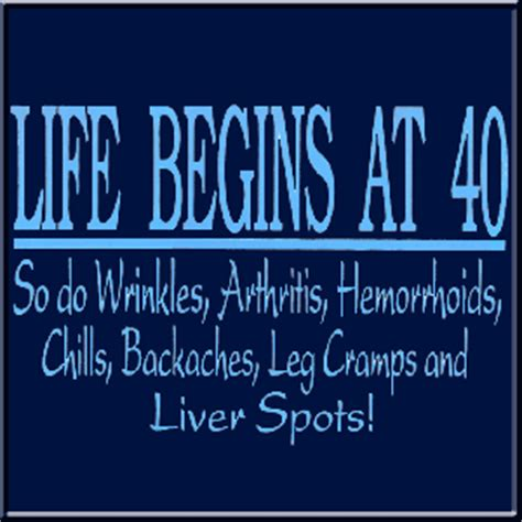Birthday One Line Quotes Life Begins At 40 Jokes Kappit