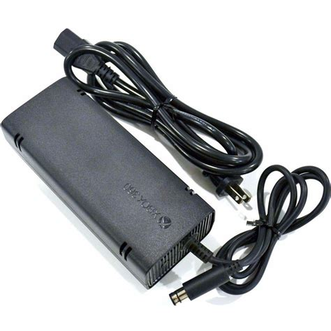 Adaptor Xbox 360 Original Microsoft Xbox 360 E Ac Adapter Power Supply Replacement