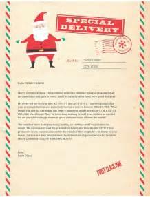 letter from santa template santa letter format new calendar template site