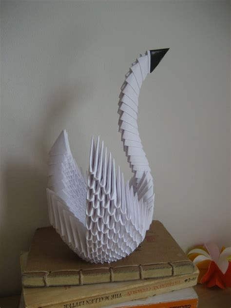 Japanese Origami Swan - 17 best images about 3d origami d on origami